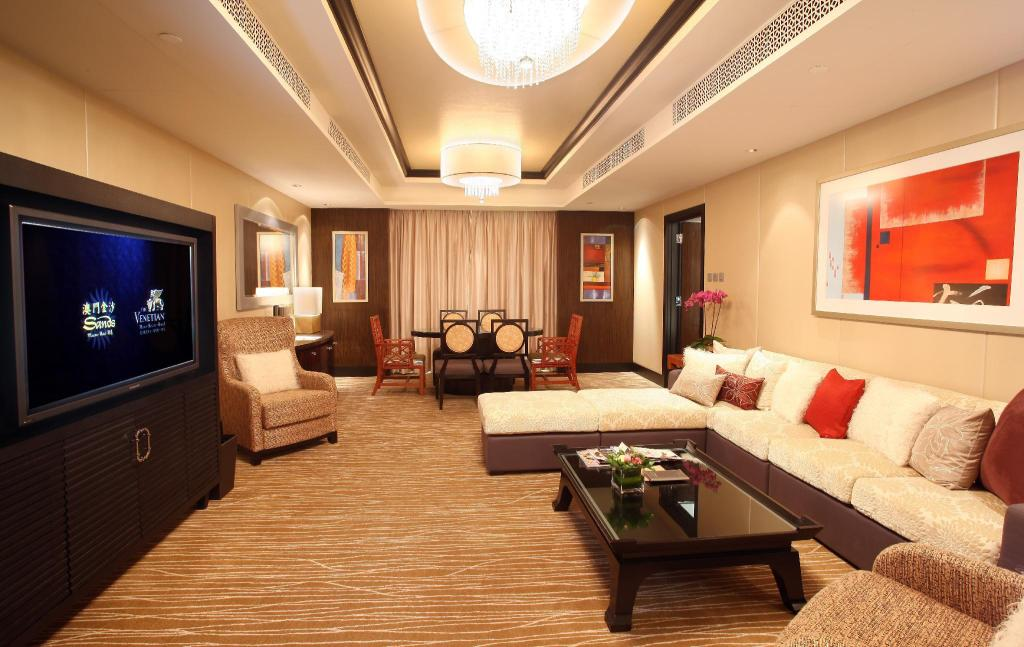 Executive Suite - Room plan
