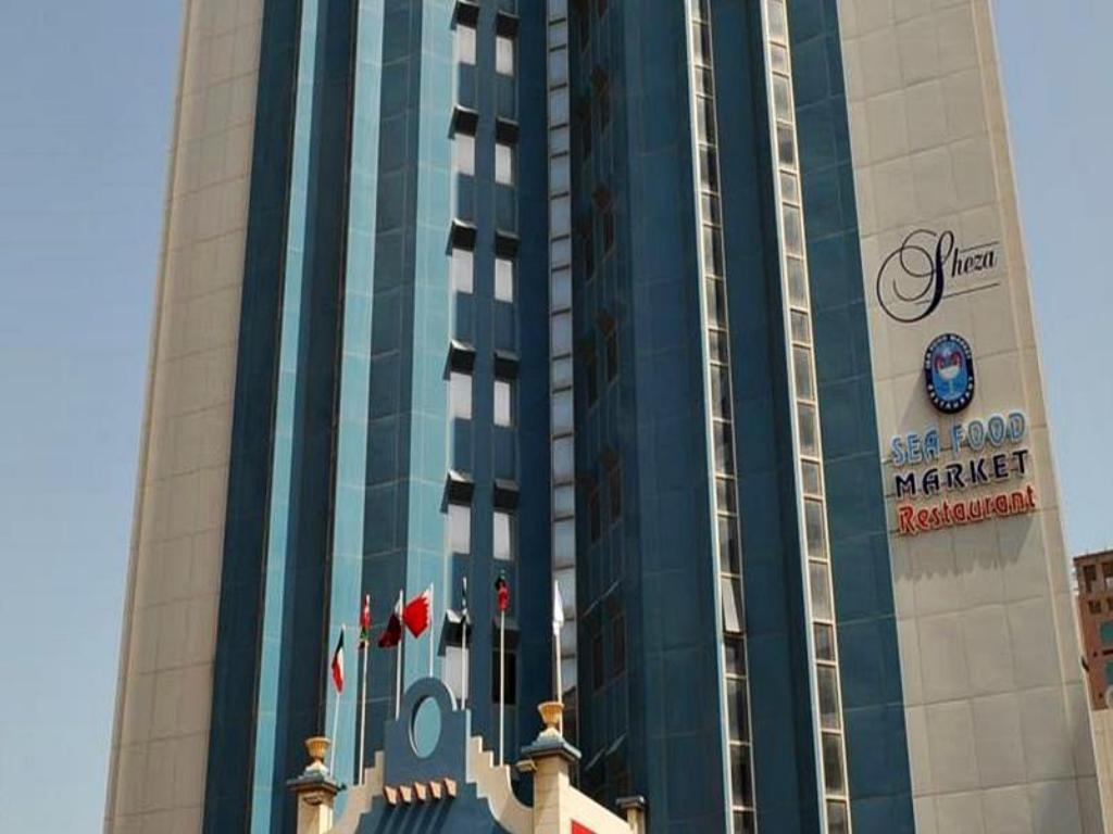 Exterior view Sheza Tower Hotel