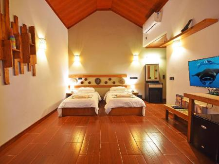 Superior Bungalow - Bed Beach Villa Ukulhas