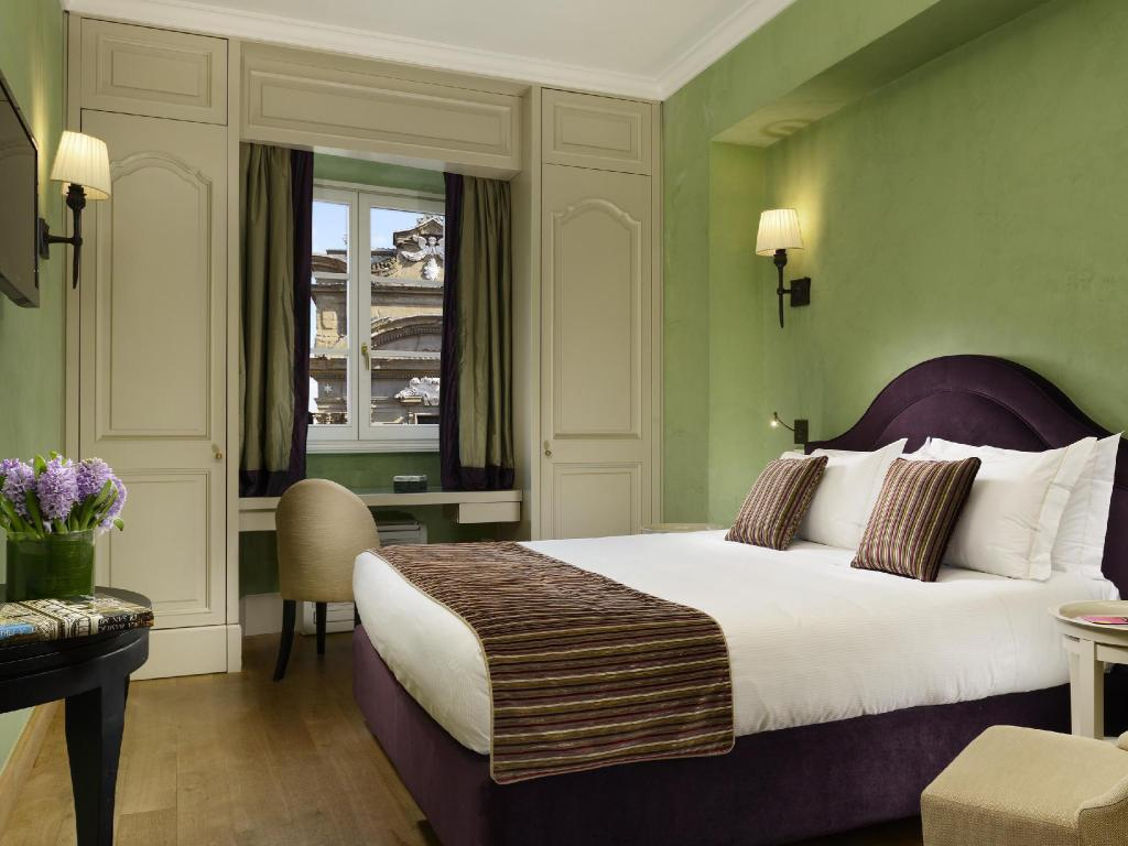 Deluxe Room - Bed San Firenze Suites & Spa