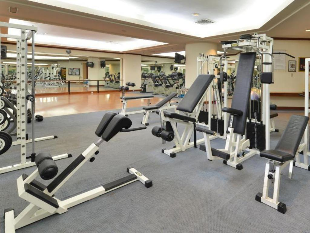 Fitness center Hotel Equatorial Melaka