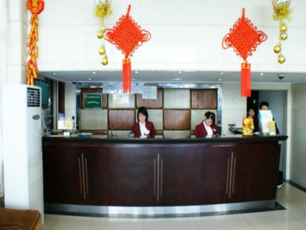 Vstupní hala Jitai Hotel Shanghai Tongji University Siping Road Branch