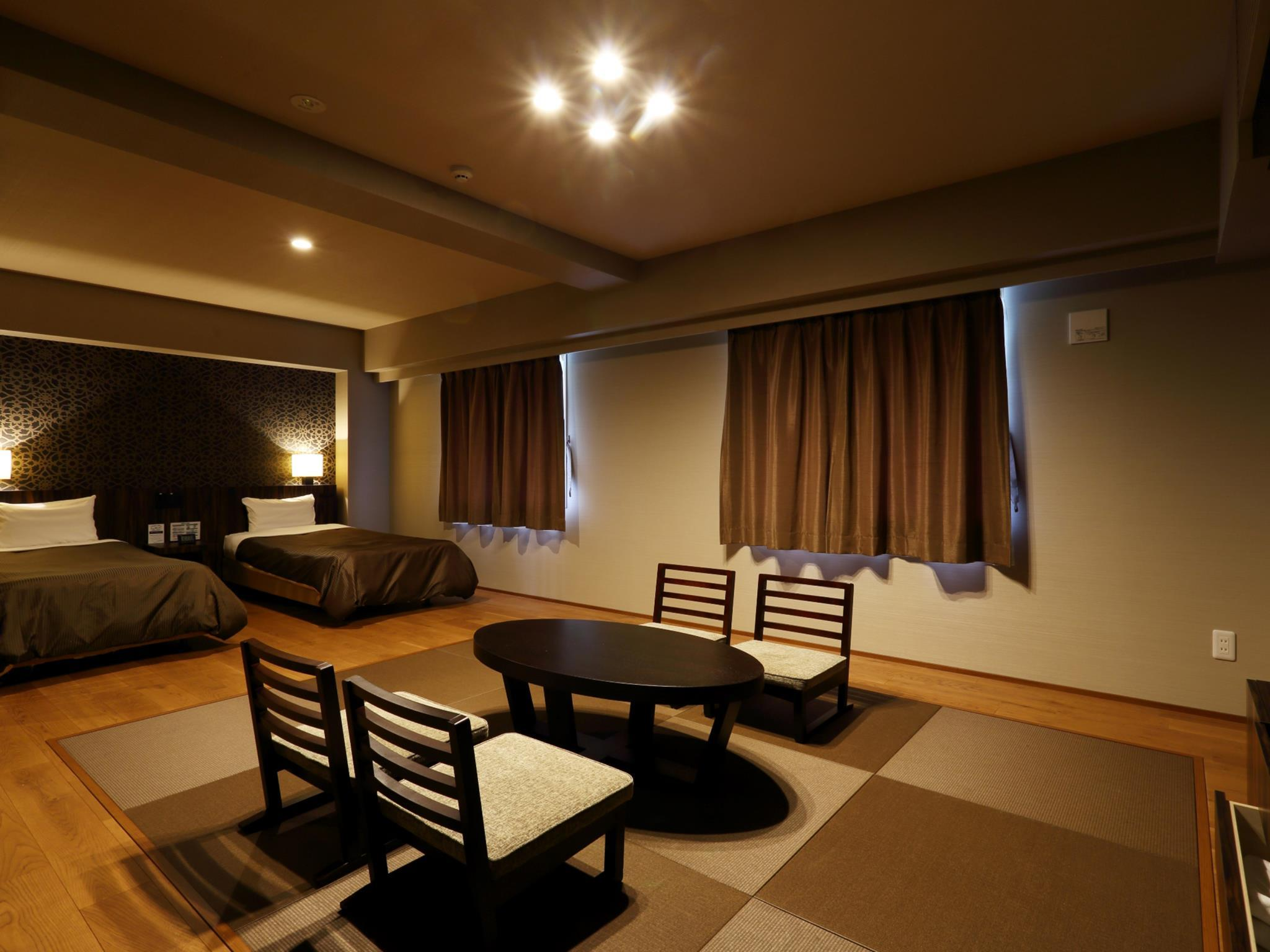 【全新裝修】和洋室客房(主樓) - 禁煙 (Main Building Japanese Western Style Room - Non-Smoking, Newly Renovated)
