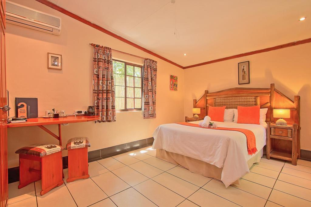 Deluxe Double Room - Room plan Kruger Adventure Lodge