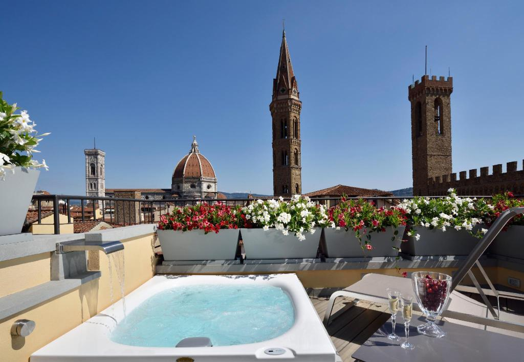 Balcony/terrace San Firenze Suites & Spa