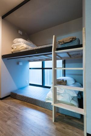 1 Person in 20-Bed Dormitory - Mixed - Bed Tokyo Guest House Ouji Music Lounge