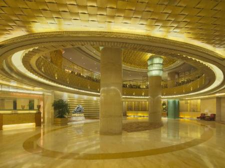 Lobby Radisson Blu Hotel Shanghai New World