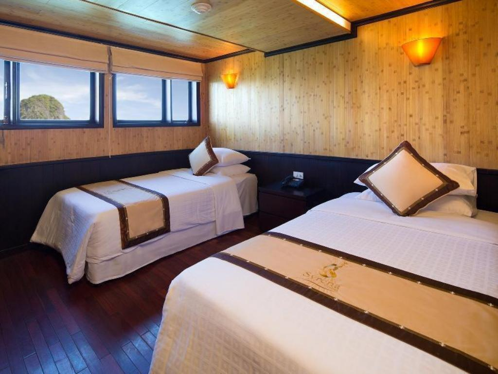 Deluxe Double or Twin Room with Ocean View - 3 Days 2 Nights - Bed Syrena Cruise