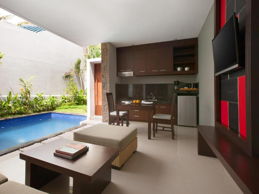 Interior view Samaja Beachside Villas