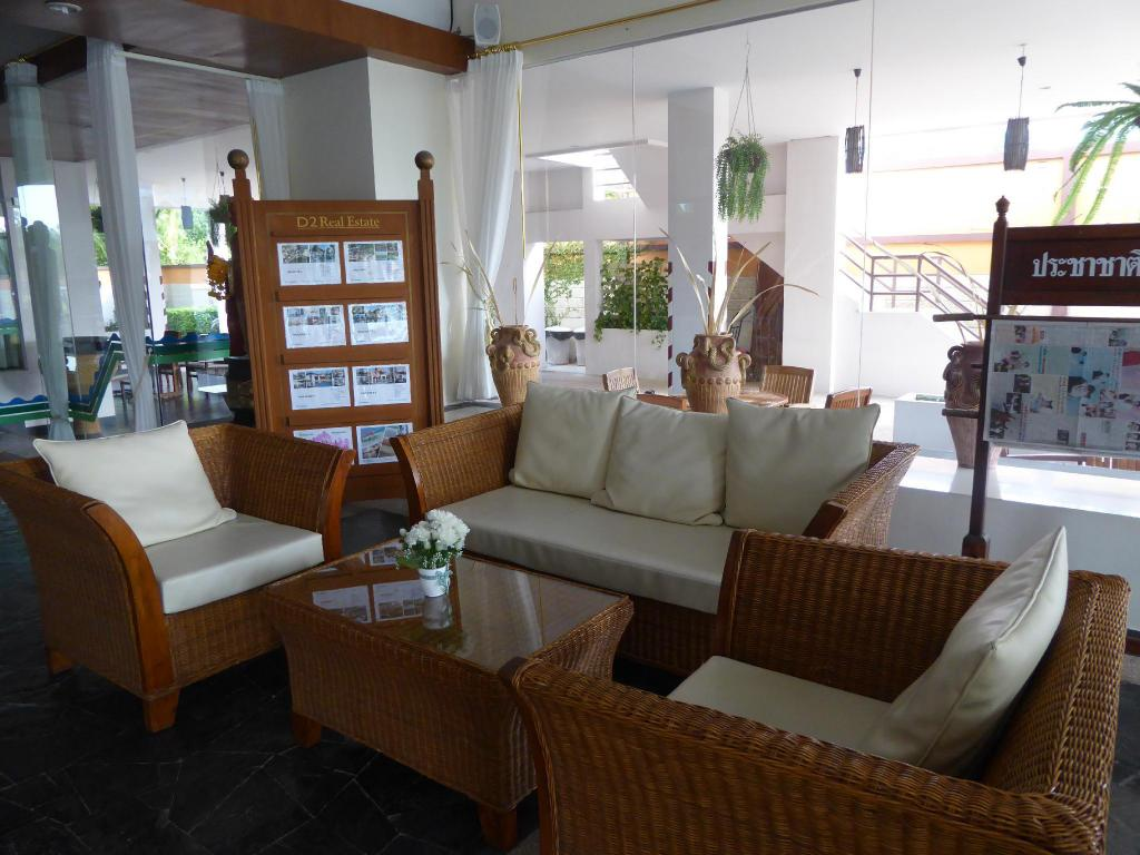 Lobby Sea Sand Sun Resort Rayong
