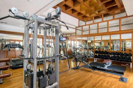 Fitness center DoublePool Villas by Banyan Tree
