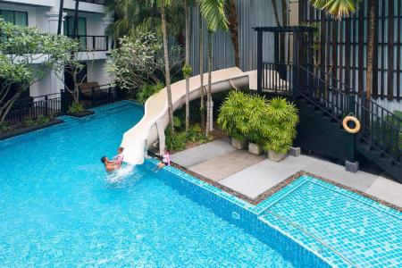 utomhuspool Centara Anda Dhevi Resort and Spa