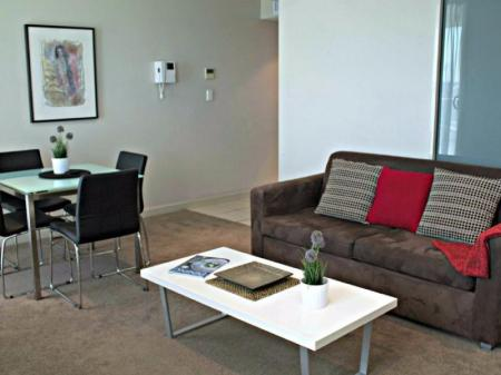 Interior view North Terrace – Adelaide DressCircle Apartments