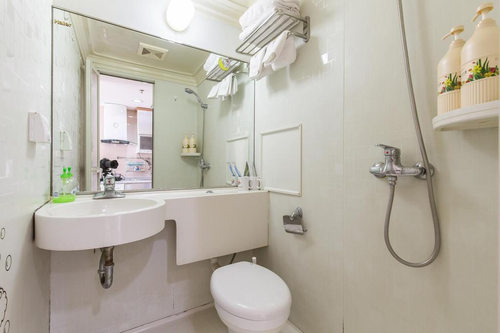 Theme Queen Room - Bathroom Sidijia Service Apartment (Shanghai Jiangning Road)