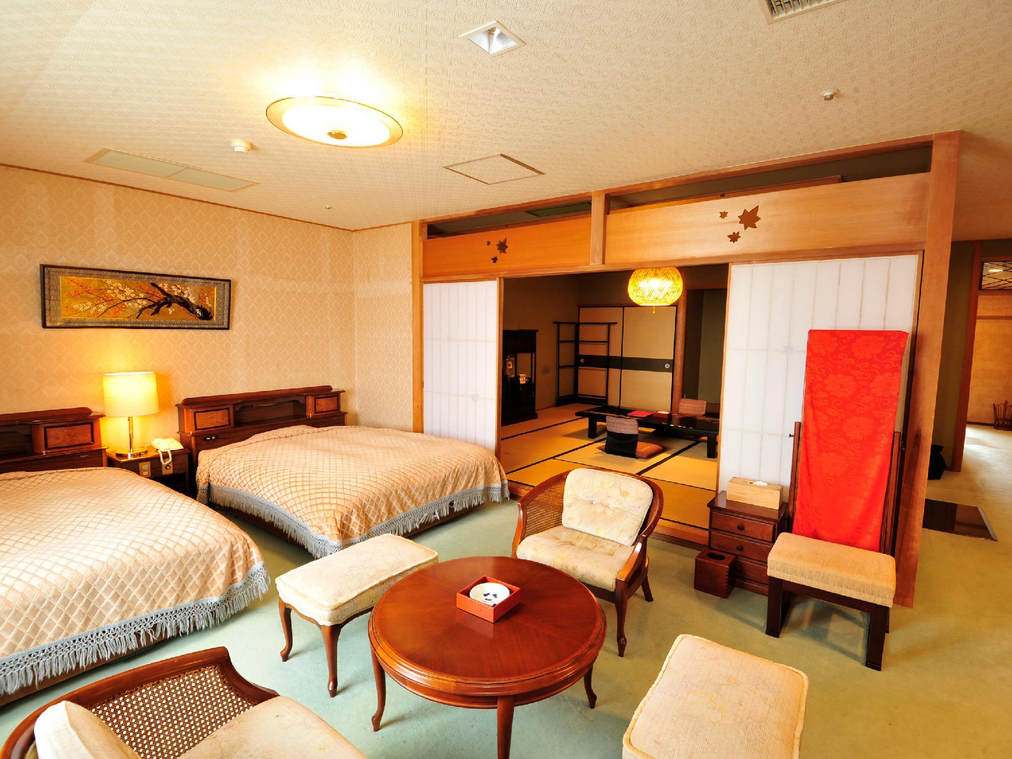 Standard Japanese Western Style Room Type A for 4 People