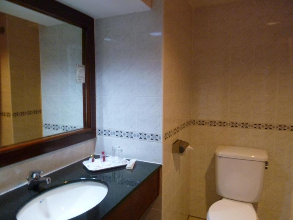 Bathroom Goldcourse Hotel Klang