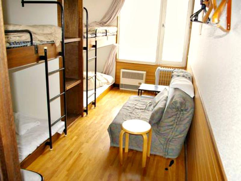 2 Person Bunk Room