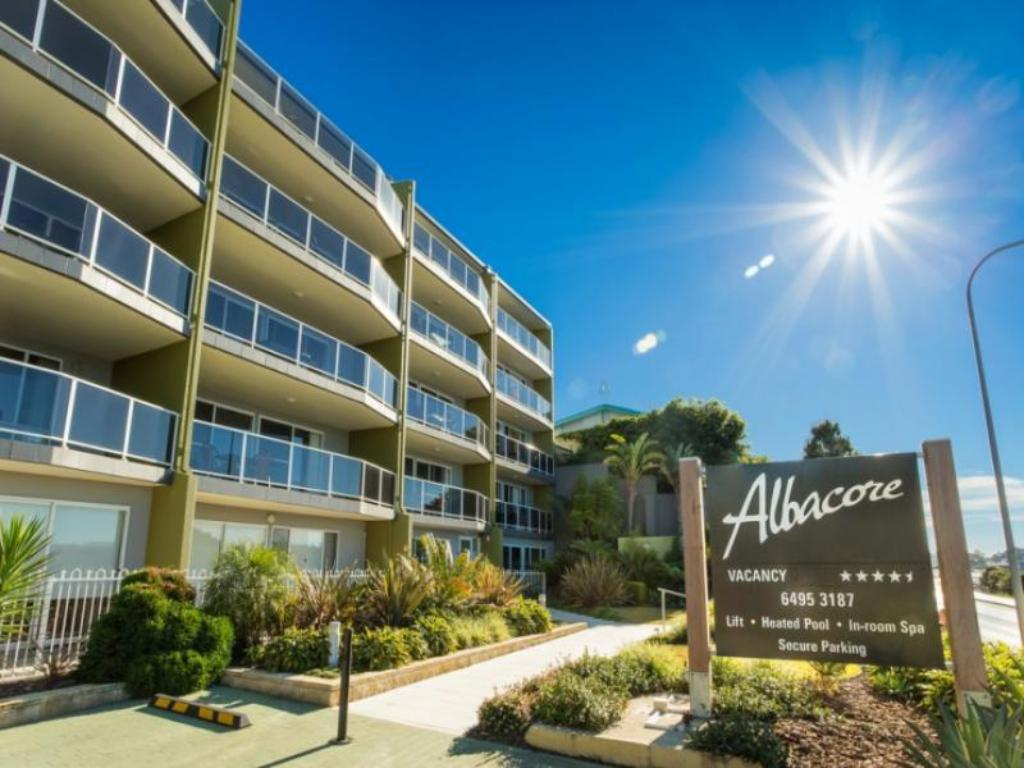More about Albacore Apartments