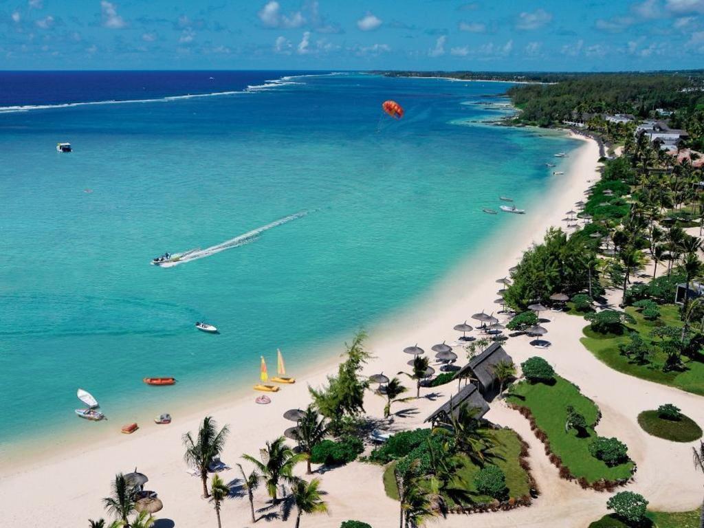 Long Beach Mauritius Location Map