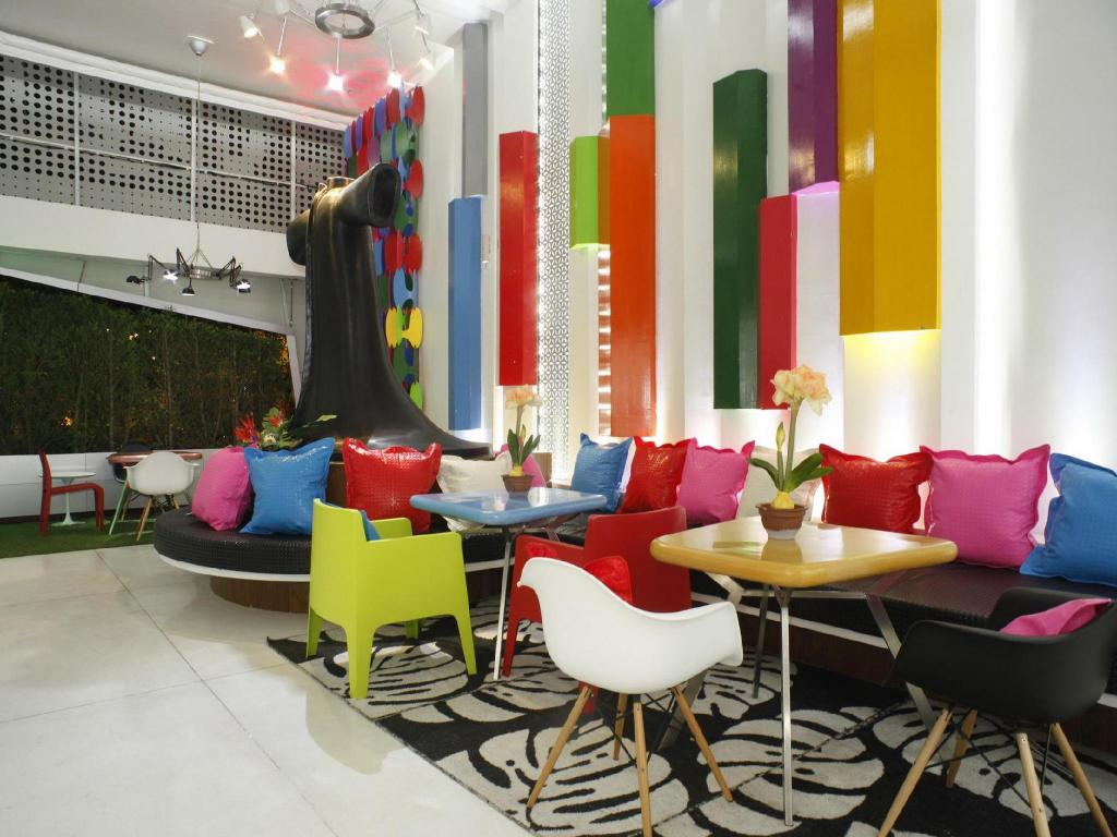 Lobby The Color Hotel