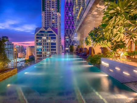 Swimming pool [outdoor] Eastin Grand Hotel Sathorn