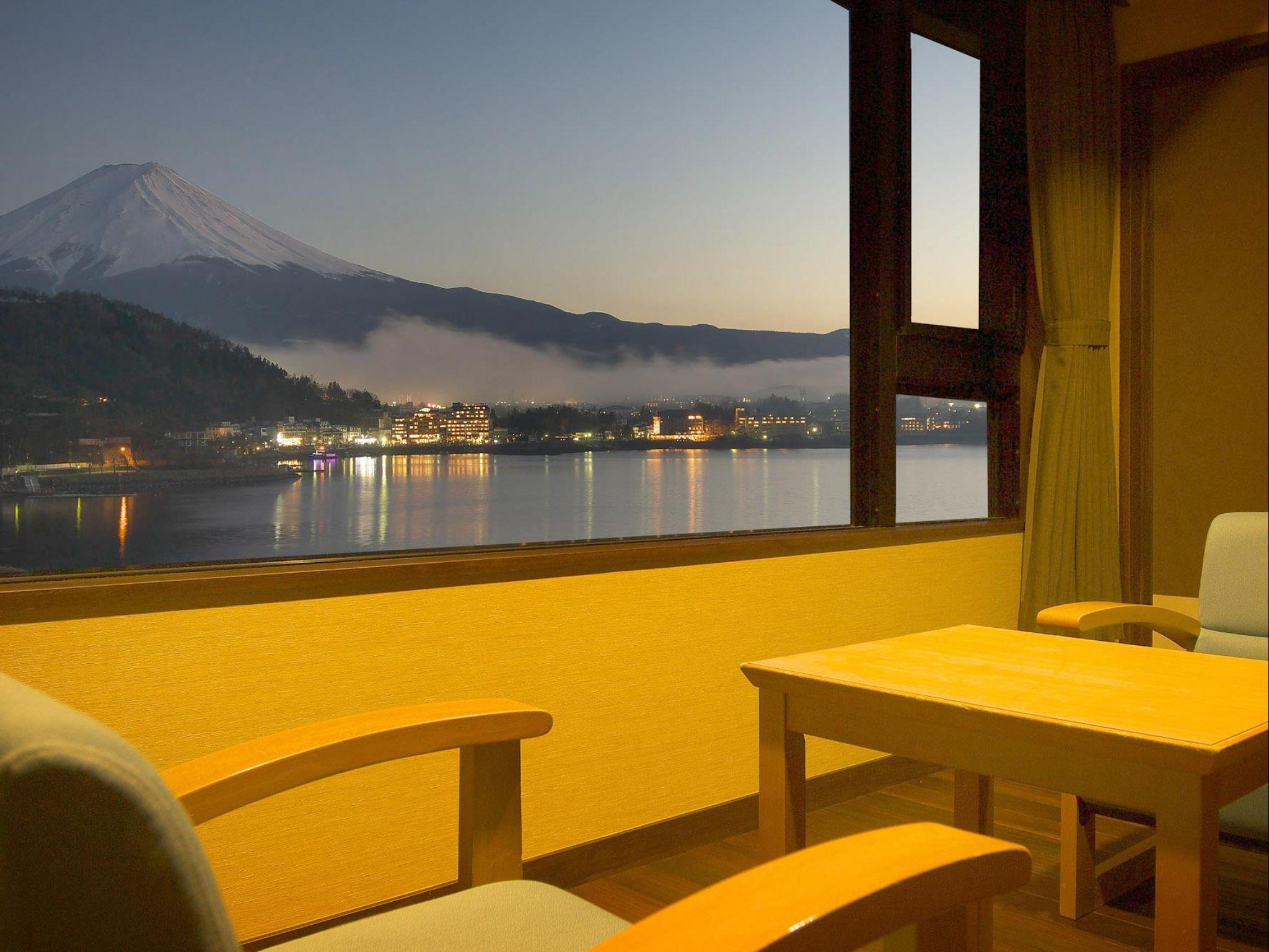 Mount Fuji View Japanese Western Style Room - Adult Only