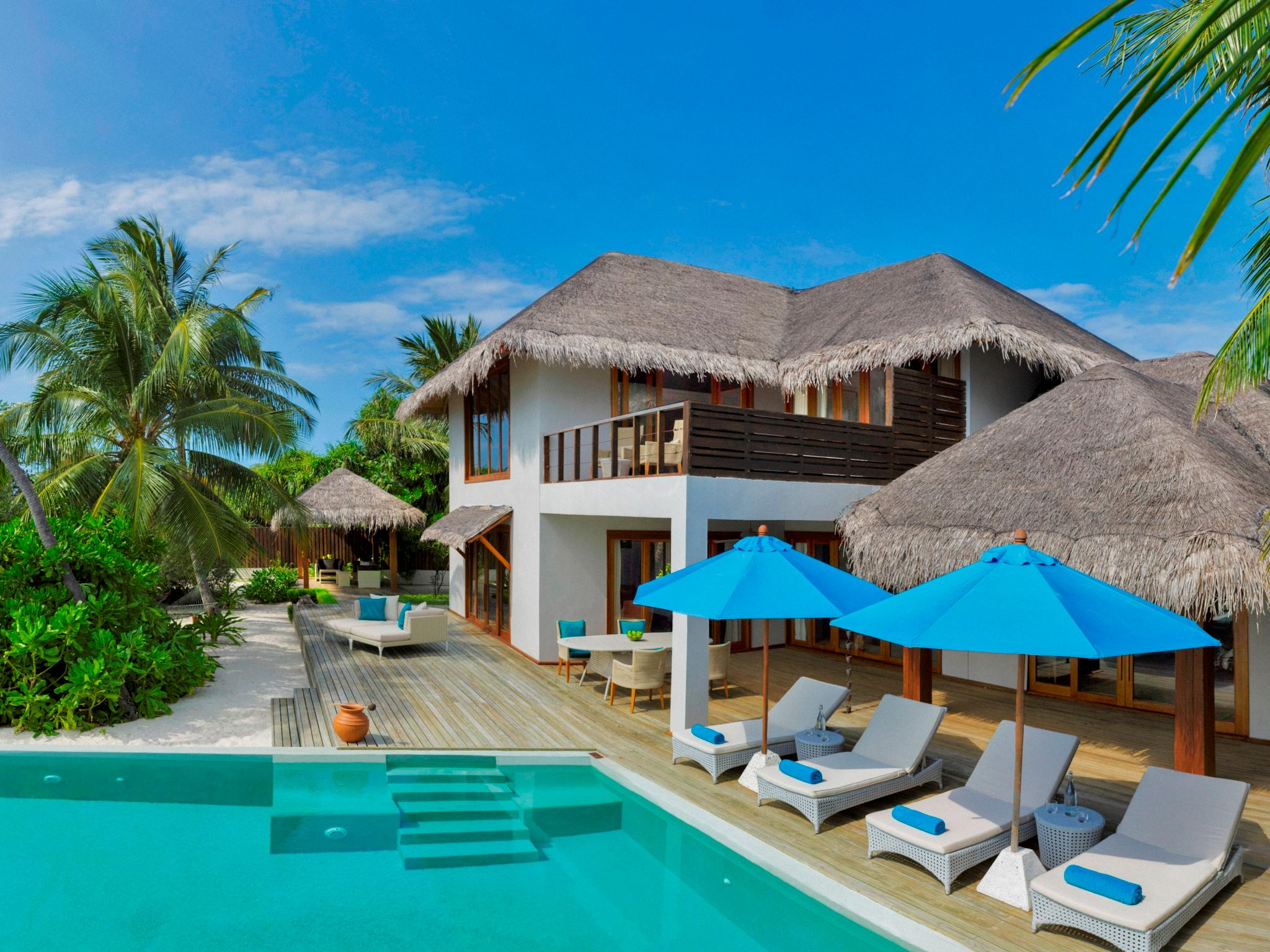 2-Bedroom Beach Residence with Pool