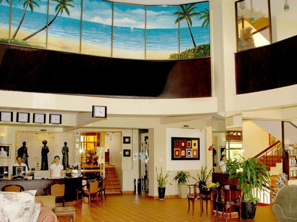 Lobby The Palms Phan Thiet
