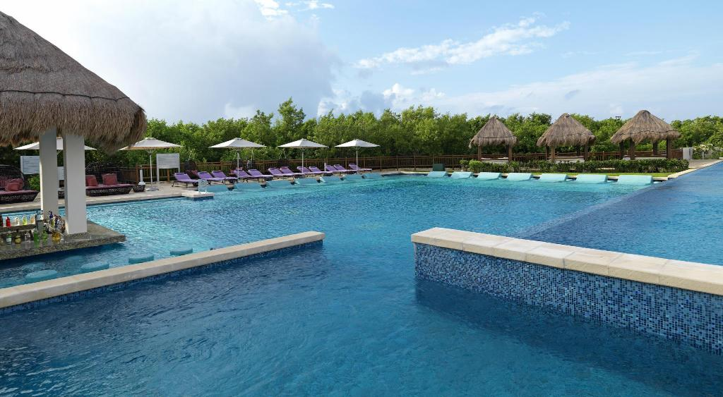 Swimming pool [outdoor] Paradisus Playa del Carmen La Perla All Inclusive - Adults Only