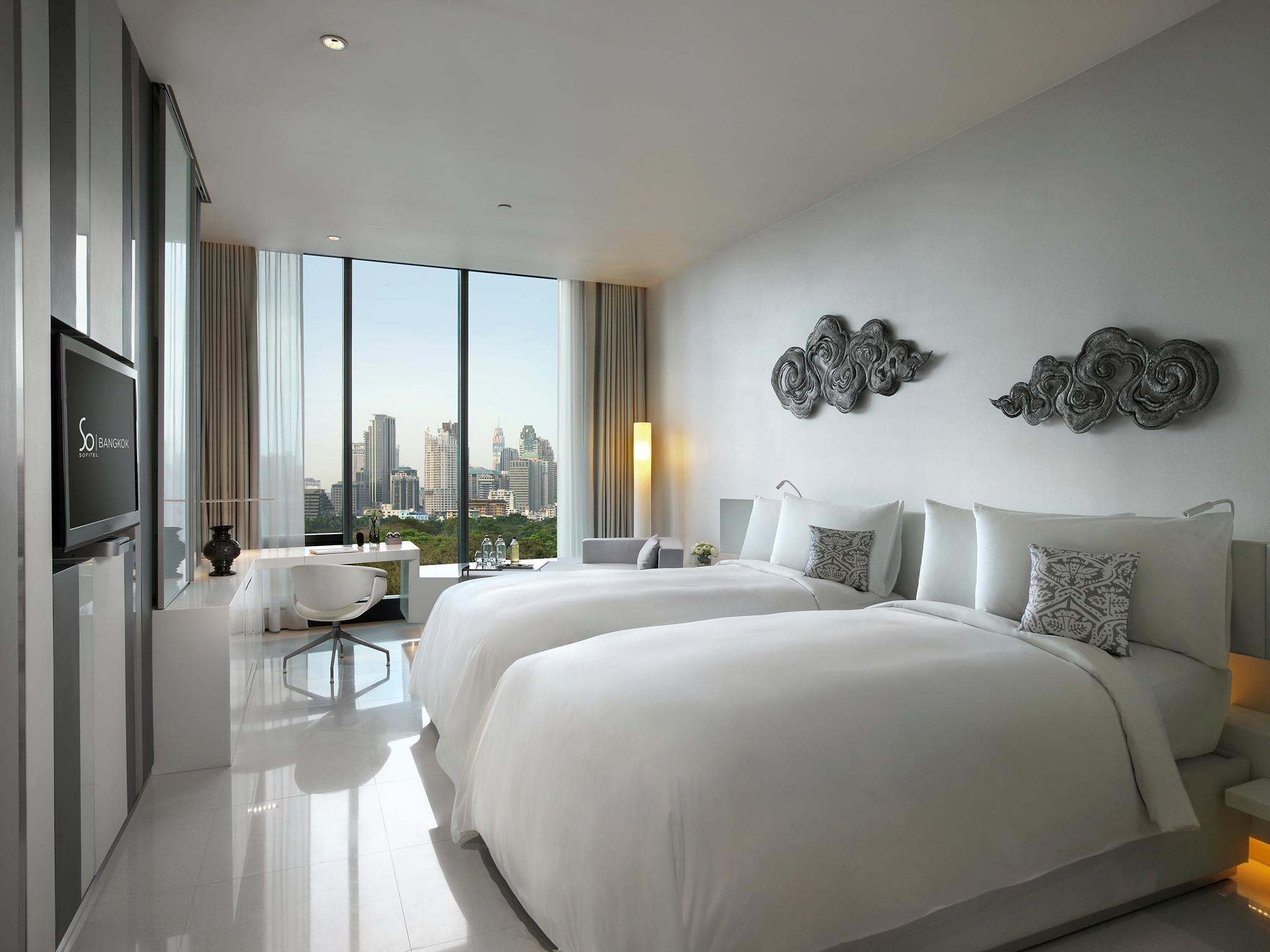 SO Cozy市景房(兩床) (SO Cozy City View Twin Room)