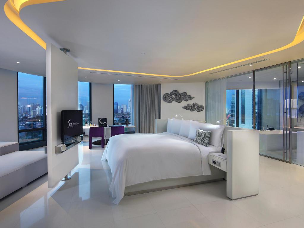 SO Lofty Suite with Club Benefits - Bedroom