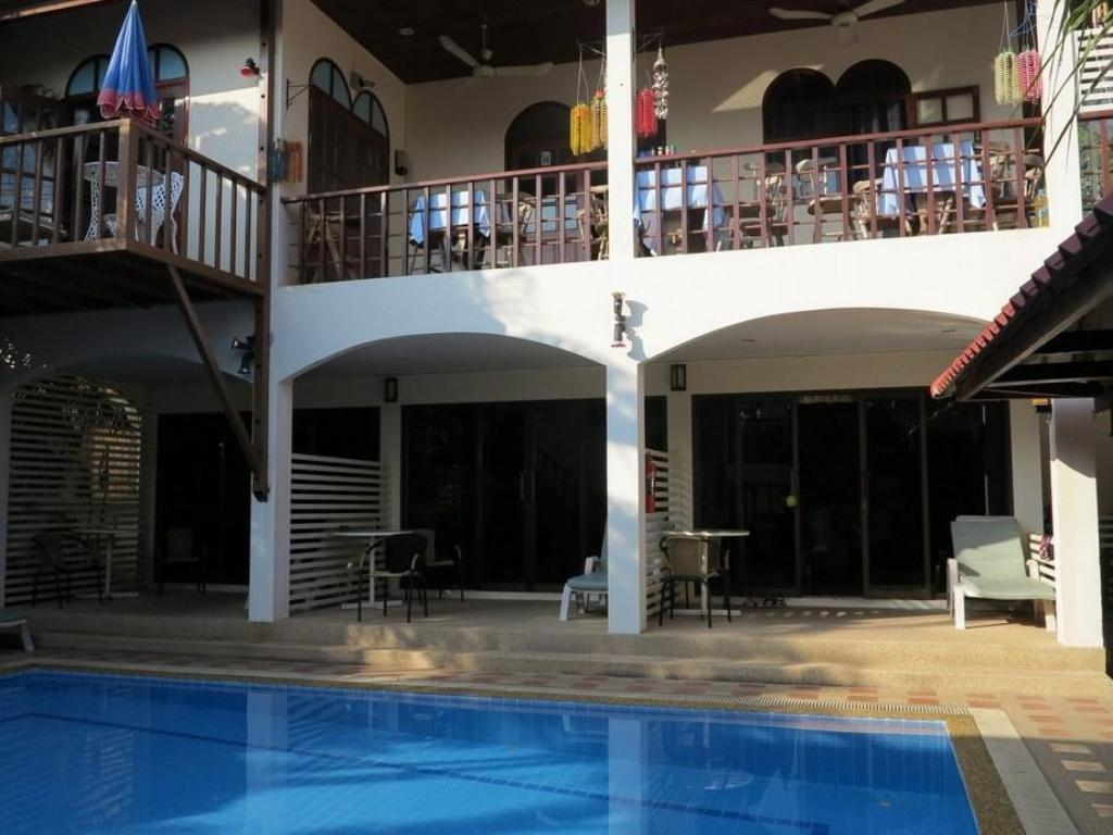 Swimming pool Chaulty Towers Guesthouse