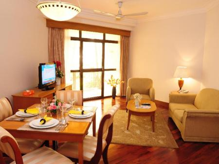 Interior view Riverside Serviced Apartments
