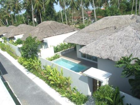 utomhuspool The Living Pool Villas