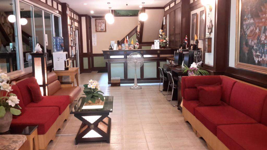 Lobby Jomtien Morningstar Guesthouse
