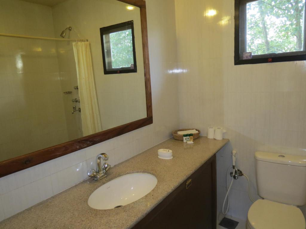 Twin Bedroom - Bathroom TigerLand Safari Resort