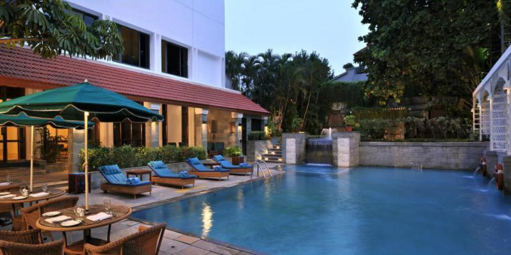 Swimmingpool WelcomHotel Chennai - Member ITC Hotel Group