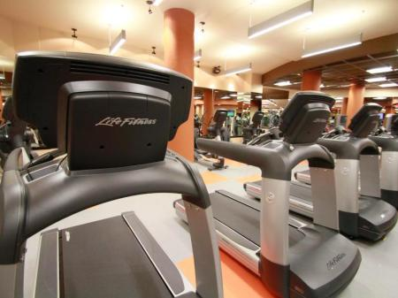 Fitness center Villa Del Palmar Cancun