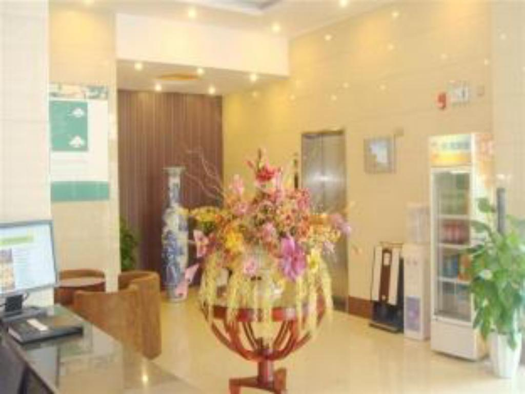 Hotellet indefra GreenTree Inn Shandong Rizhao University City Express Hotel