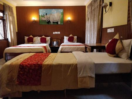 Deluxe Triple Room - Bed Hotel Wild Life Camp