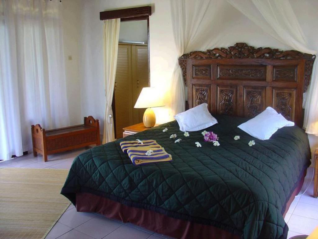 1 Bedroom Bungalow - Bed Cabe Bali Bungalows