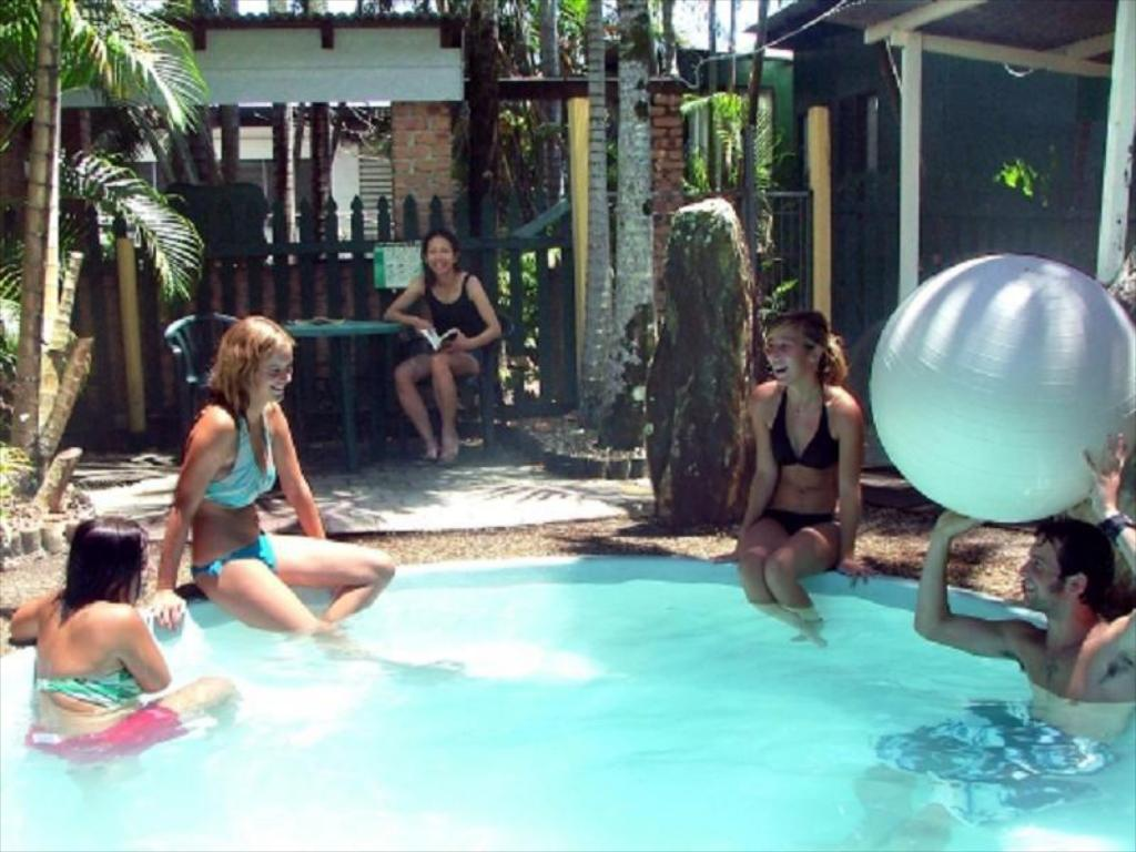 Swimming pool Cairns City Backpackers