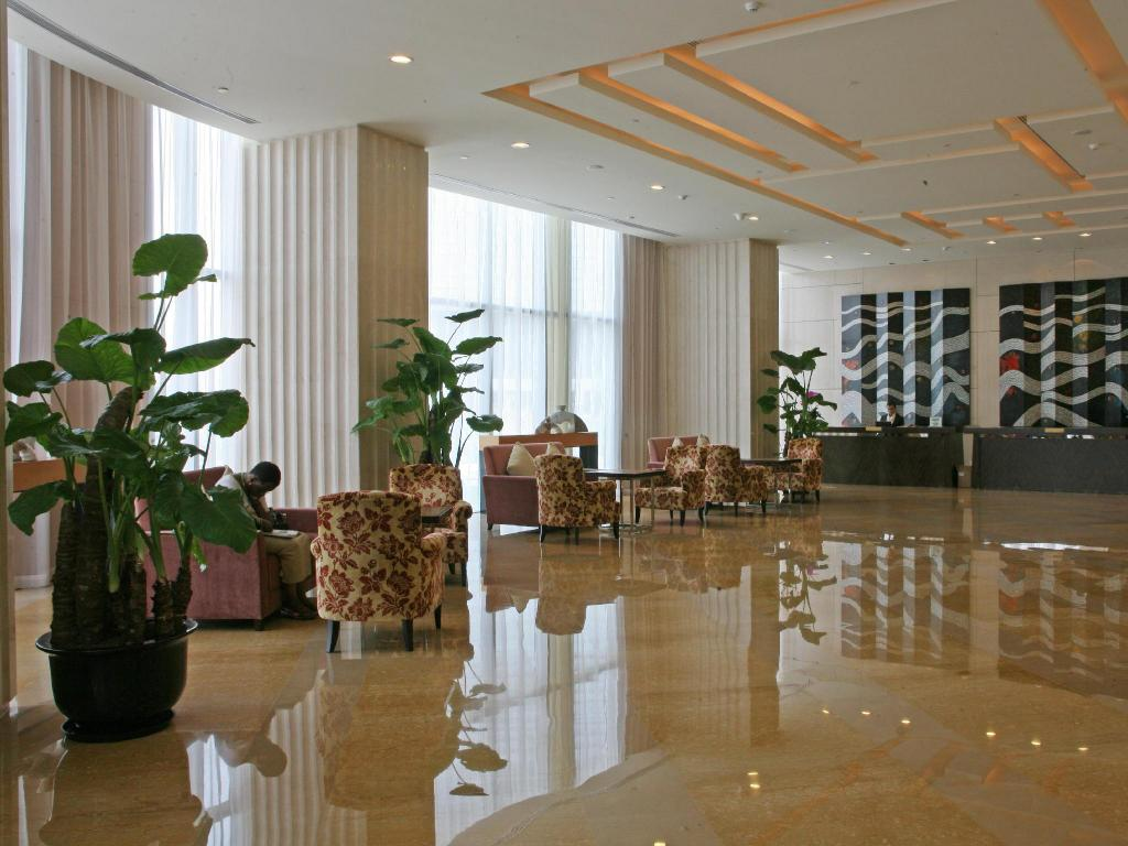 Lobby China National Convention Center Grand Hotel