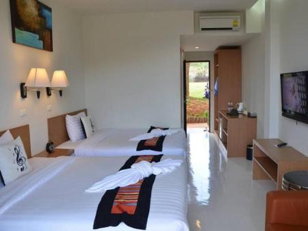 Superior Twin bed - Bed The Piano Resort Khao Yai