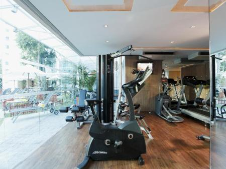 Fitness center Centara Pattaya Hotel
