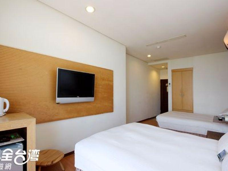 海景家庭房(兩床) (Sea View Family Room with Twin Bed)