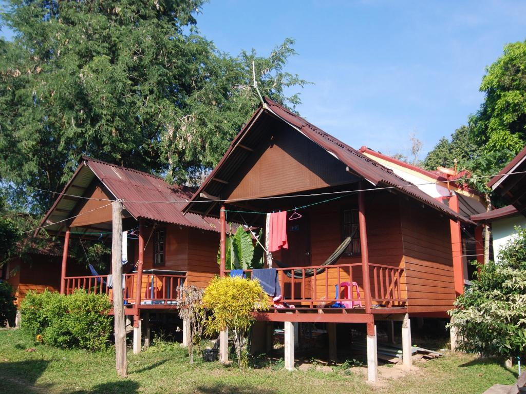 Double Room with Fan - Villa/Bungalow Lanta Nature Beach Resort