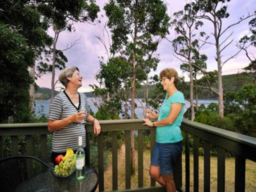 Balkon NRMA Port Arthur Holiday Park