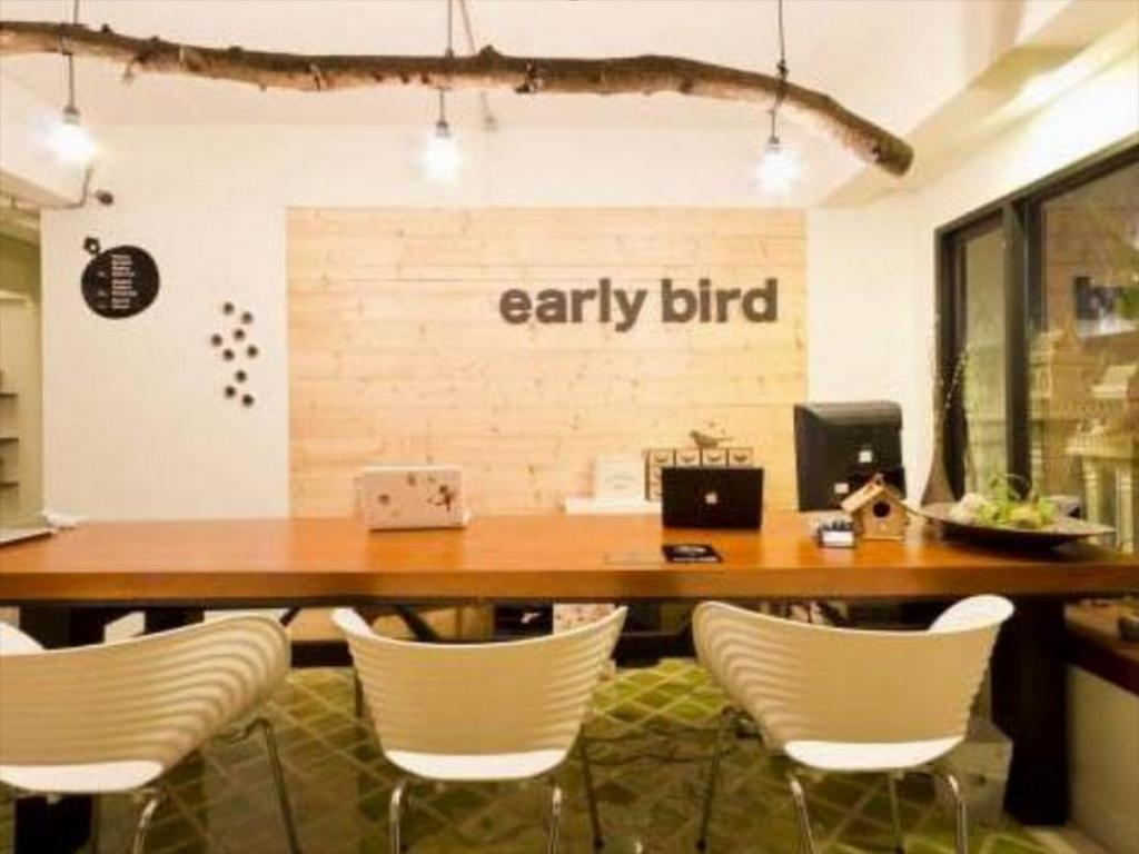 Lobby Early Bird Bed & Breakfast