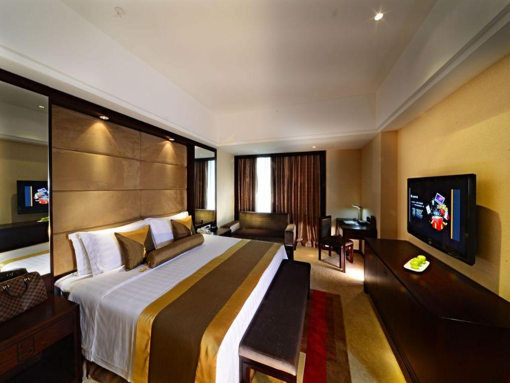 Deluxe King Vienna International Hotel Suzhou University Town